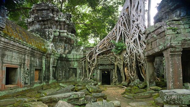 древний город, Камбоджа