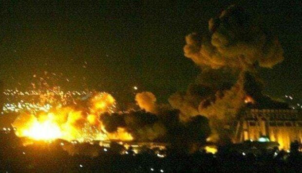 Сирия, удар