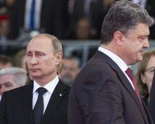 Порошенко, Путин,