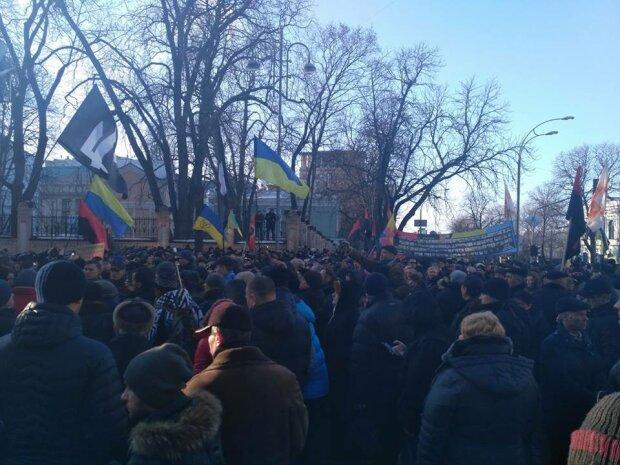 Киев вече митинг