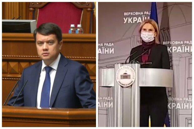 """Сменщица Разумкова в Раде устроила бунт против карантина выходного дня:  """"Это полная ерунда"""""""