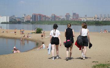 пляж, маска, літо