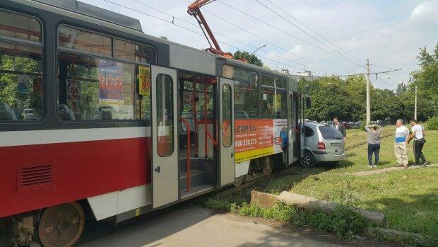 трамвай, ДТП