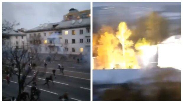 """Вибухи і стрілянина на Майдані в Мінську, ситуація різко прийняла новий оборот: """"З 26 жовтня..."""""""