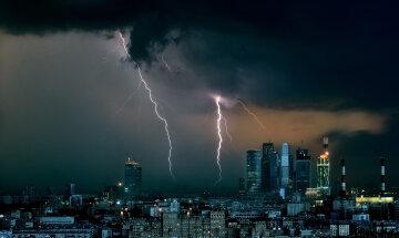 москва буря