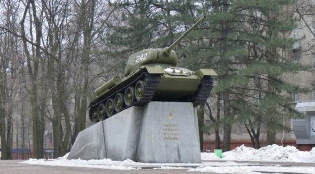 """В центре Днепра решили убрать памятник """"Танк"""": в чем причина"""