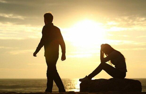 пара, расставание, развод