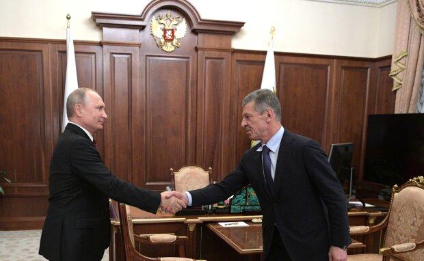 Дмитрий Козак, Владимир Путин