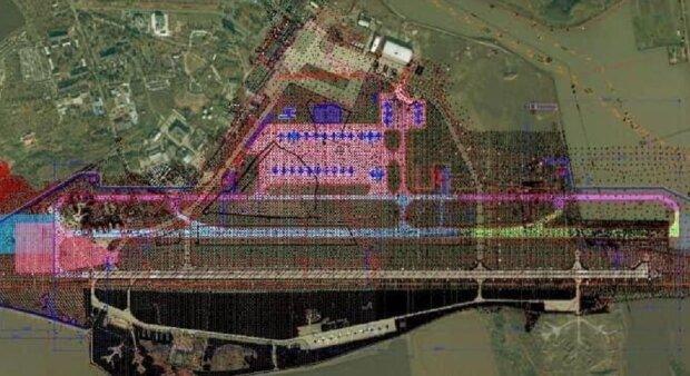 У Дніпрі почали будувати новий аеропорт: перші фото і відео з місця