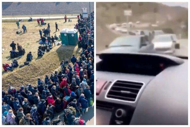 """""""Кричат караул и падают в ноги"""": люди в панике покидают Карабах, показательное видео"""