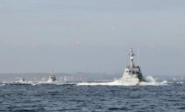 """Стрельбу открыли в  Черном море у берегов Одессы: """"противостояли подводным диверсантам"""""""