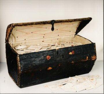 Сундук с письмами Гаага музей