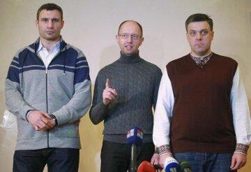 """Тягнибока, Яценюка и Кличко предложили отправить в Беларусь: """"Лукашенко узнает, что такое страх"""""""