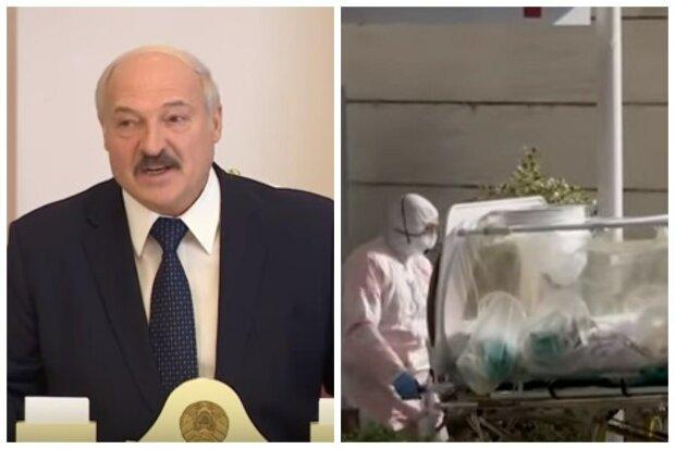 Александр Лукашенко, коронавирус