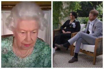 Елизавета II, меган маркл, принц гарри, королева