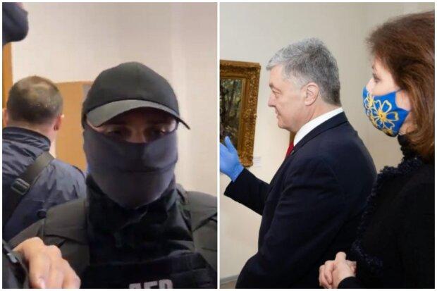 Спецназ взяв штурмом музей з картинами Порошенко, є постраждалі: кадри атаки