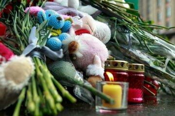 траур, свеча, умер