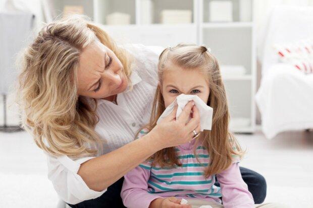 В Украине гриппом и ОРВИ заболели полмиллиона человек