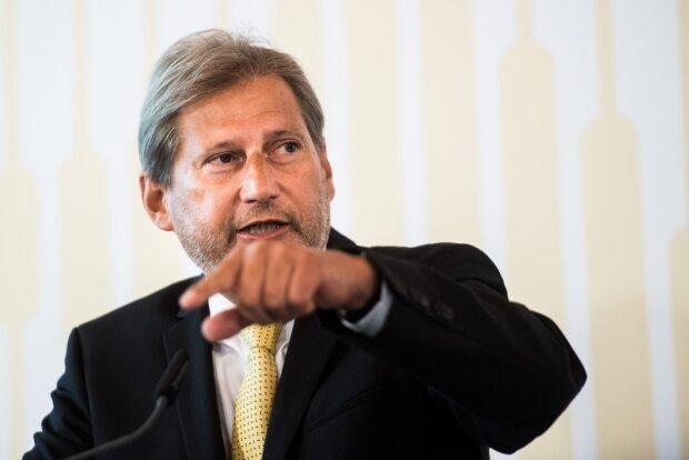 комиссар ЕС по вопросам расширения и политики соседства Иоганнес Ган