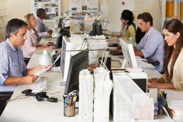 офис, работа, рабочее место