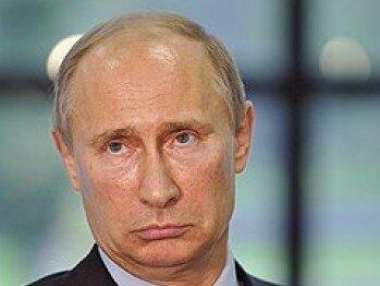 Путин грустит
