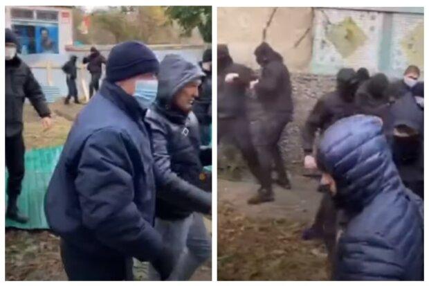 Стрельба и массовая драка в Одессе, много полиции: кадры замеса
