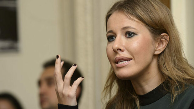 Ksenia Sobchak And Vladimir Ashurkov In Conversation