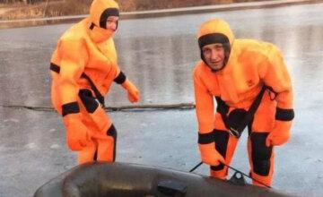 """ЧП на Полтавщине, спасатели бросились в ледяную воду: """"Боролся за жизнь из последних сил"""""""