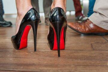 ноги, каблуки, женщина
