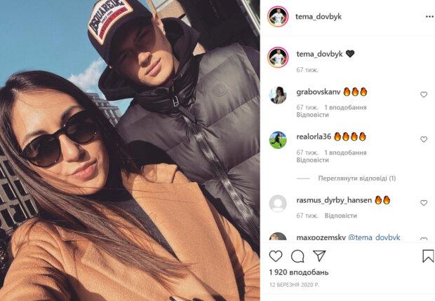 Как выглядит жена Артема Довбика, забившего победный гол за сборную Украины: фото парочки