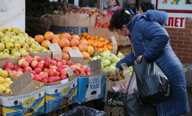 Фрукты овощи рынок торговля