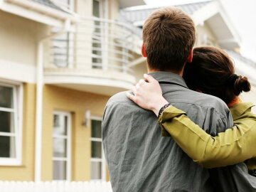 жилье, дом, пара