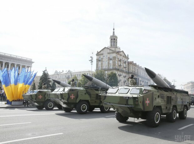 Военный парад Киев