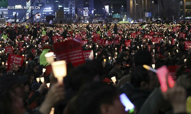 Сеул митинг