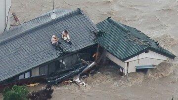 япония наводнение потоп