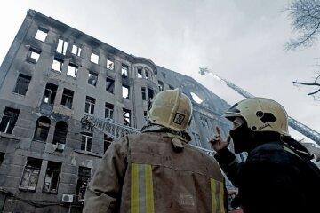 """""""Четыре пожара на его совести"""": замначальника ГСЧС попался на горячем в Одессе, кадры"""