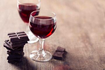вино-шоколад