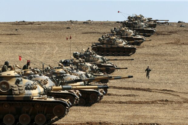 Турция танки турецкие в Сирии