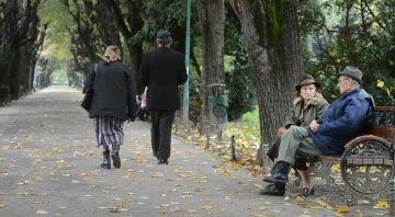 пенссии, пенсіонери