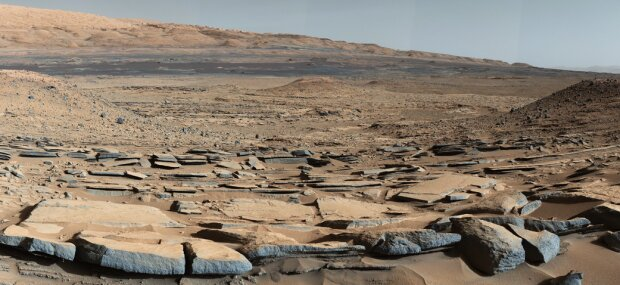 Кратер Гейла Марс