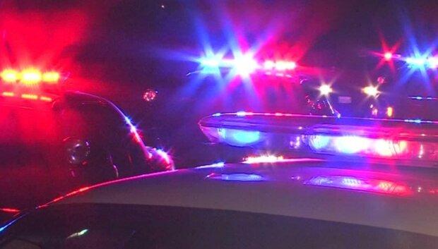 полиция мигалки происшествие