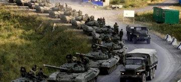 Колонна танков