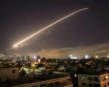 сирия, ракетный удар