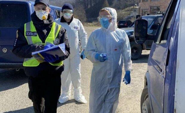 коронавірус, люди, поліція