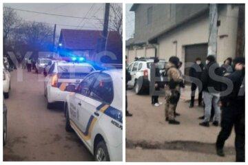 В Одессе молодой мужчина открыл стрельбу по полицейским, приехала группа захвата: кадры происходящего