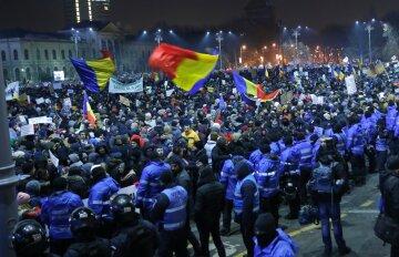 протесты_румыния1