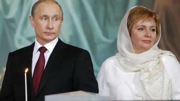 путин, жена путина