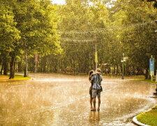 дождь, любовь