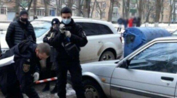 полиция, зима, преступление