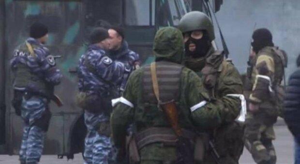 ЛНР зеленые человечки войск